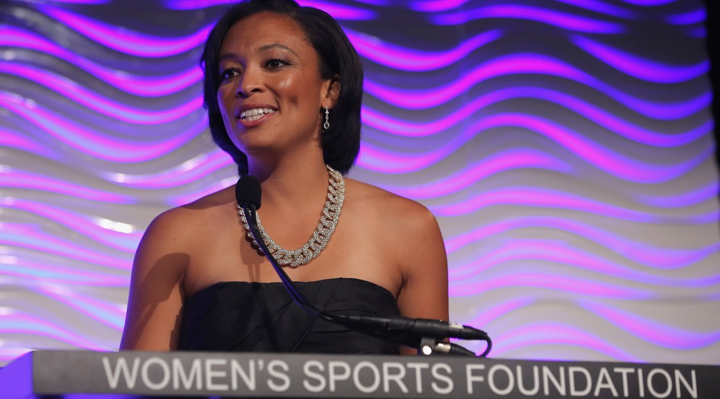 attends the 36th Annual Salute to Women In Sports at Cipriani Wall Street on October 20, 2015 in New York City.